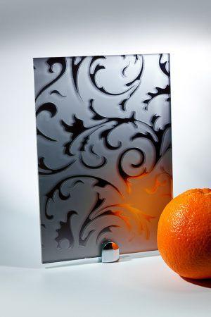 "Зеркало ""Барокко"" матовое графит Королёв"
