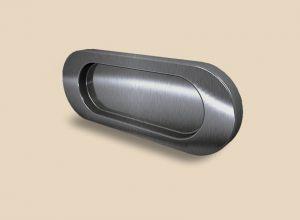 Ручка серебро глянец овальная Италия Королёв