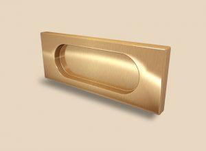 Ручка Золото глянец прямоугольная Италия Королёв