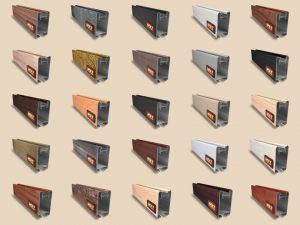 """Алюминиевый ламинированный профиль """"HOLZ"""" для шкафов купе и межкомнатных перегородок Более 100 цветов Королёв"""