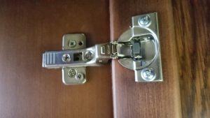 Петля для распашной двери с доводчиком Королёв