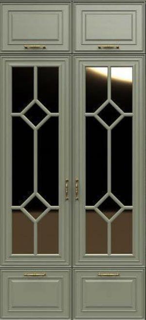 Фасад с фигурной филенкой эмаль Королёв