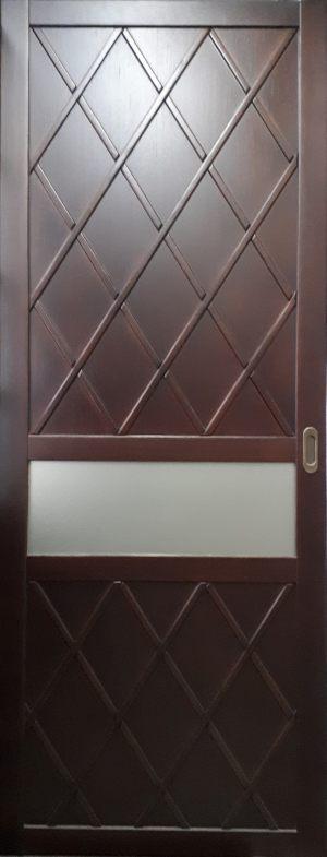 Вставка в дверь с фигурной филенкой Королёв
