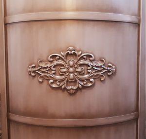 Вставка радиусная с декоративной накладкой эмаль с патиной Королёв